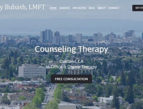 Counseling Therapy Web Design